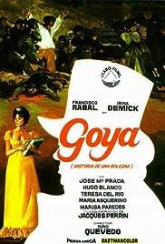 Goya, historia de una soledad Poster