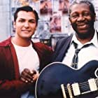 B.B. King on the set of Shake, Rattle and Roll with Brad Hawkins.