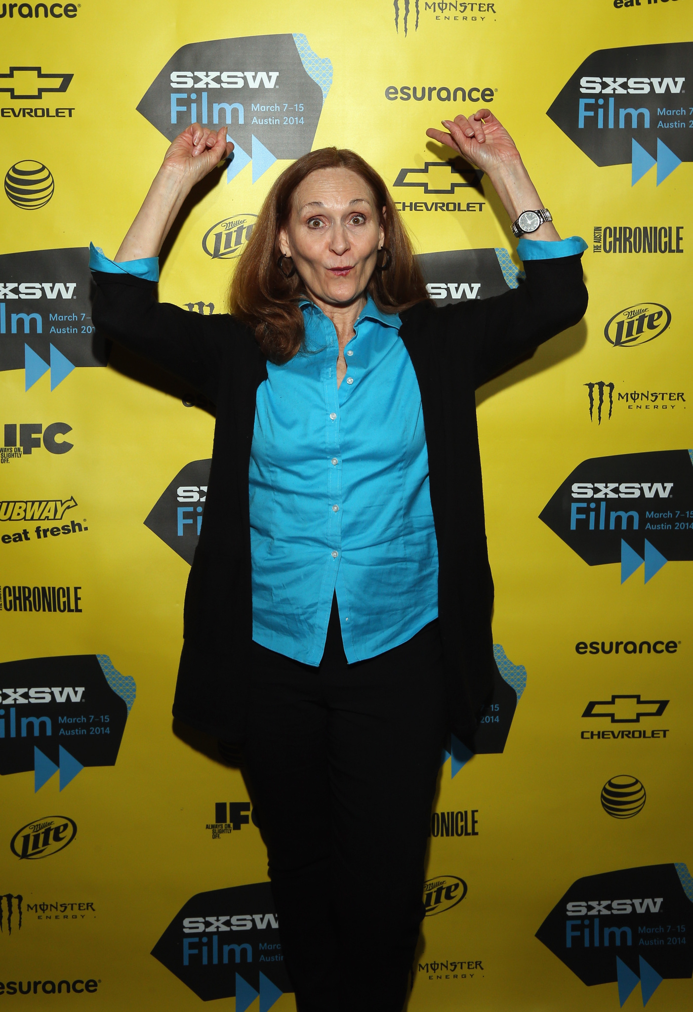 Beth Grant at an event for Faults (2014)