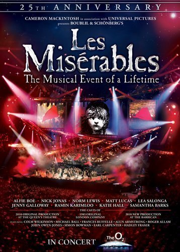 Les Misrables In Concert The 25th Anniversary 2010 Imdb