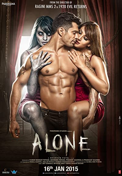 Alone 2015 HDRip 480p Full Hindi Movie Download