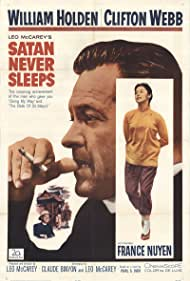 Satan Never Sleeps (1962) Poster - Movie Forum, Cast, Reviews