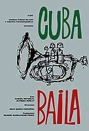 Cuba baila Poster