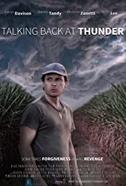 Talking Back at Thunder Poster