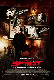 Samuel L. Jackson, Sarah Paulson, Scarlett Johansson, Gabriel Macht, and Eva Mendes in The Spirit (2008)