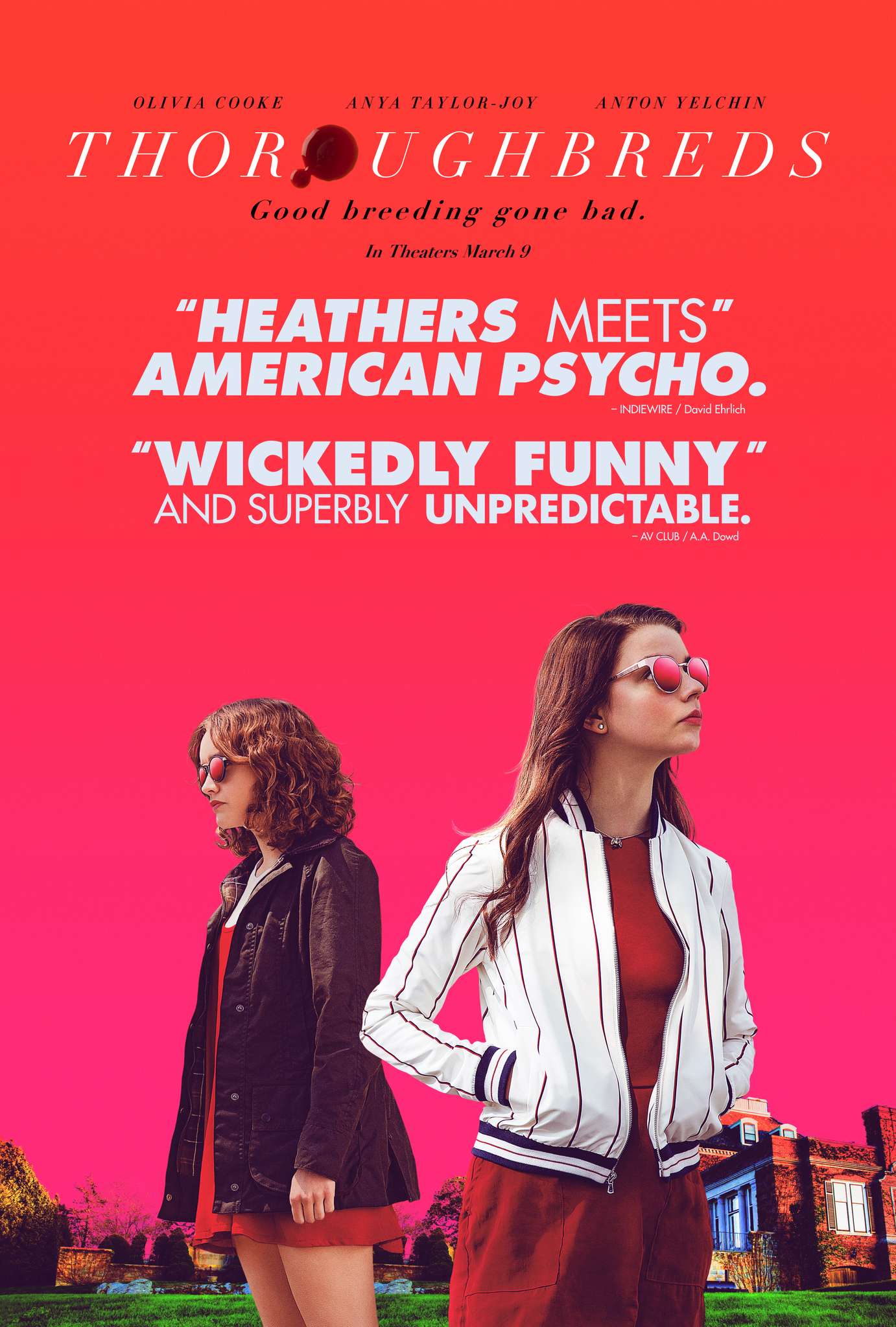 Image result for thoroughbreds movie poster imdb""