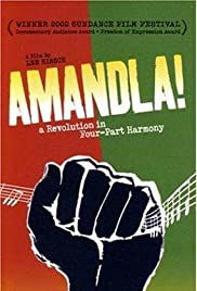 Amandla! A Revolution in Four Part Harmony Poster