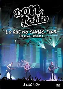 Netflix movie downloads Lo que no sabias - tour en vivo [movie] [1080p] [mpeg], Jaime Medina
