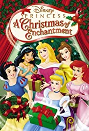 disney princess a christmas of enchantment poster