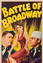 Battle of Broadway Poster