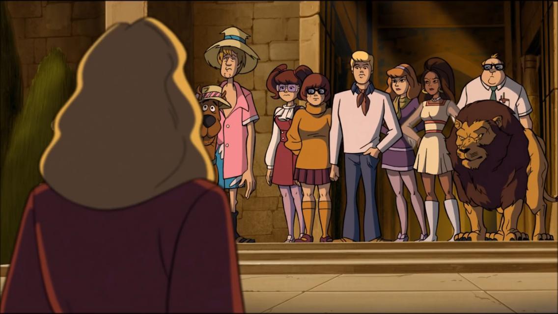 Matthew Lillard, Danica McKellar, Mindy Cohn, Grey Griffin, Brian Posehn, Crystal Scales, and Frank Welker in Scooby-Doo! Abracadabra-Doo (2010)