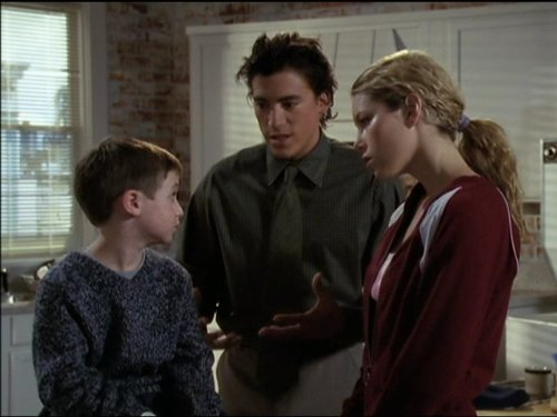 Jessica Biel Andrew Keegan And Mike Weinberg In 7th Heaven 1996