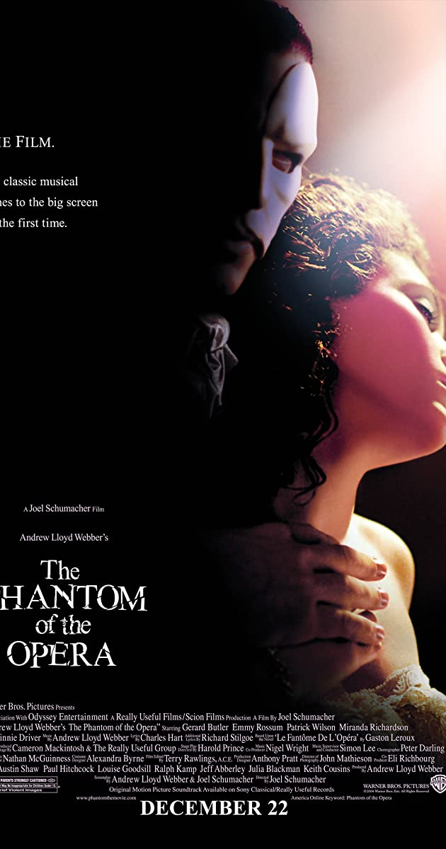 The Phantom of the Opera (2004) - Frequently Asked Questions