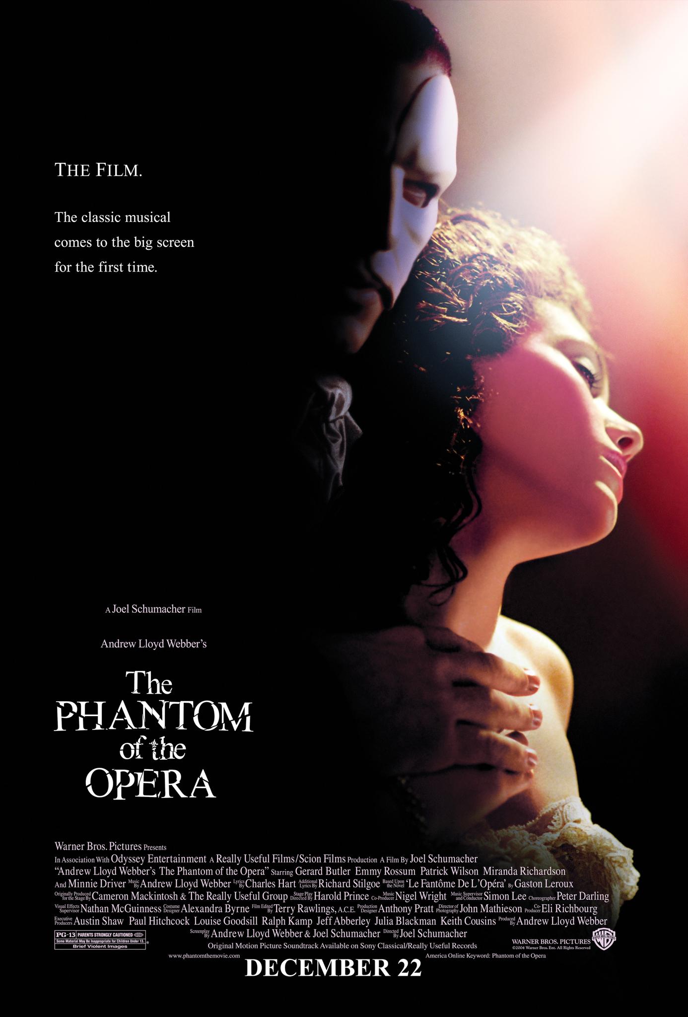 The Phantom of the Opera (2004) BluRay 480p, 720p & 1080p