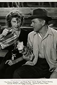 Martha Raye and Charles Ruggles in The Farmer's Daughter (1940)
