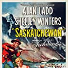 Alan Ladd and Shelley Winters in Saskatchewan (1954)