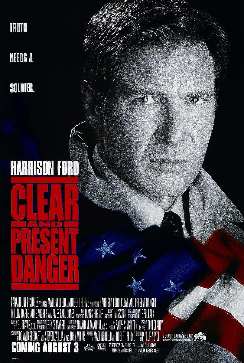 Akivaizdus ir tikras pavojus / Clear and Present Danger (1994)