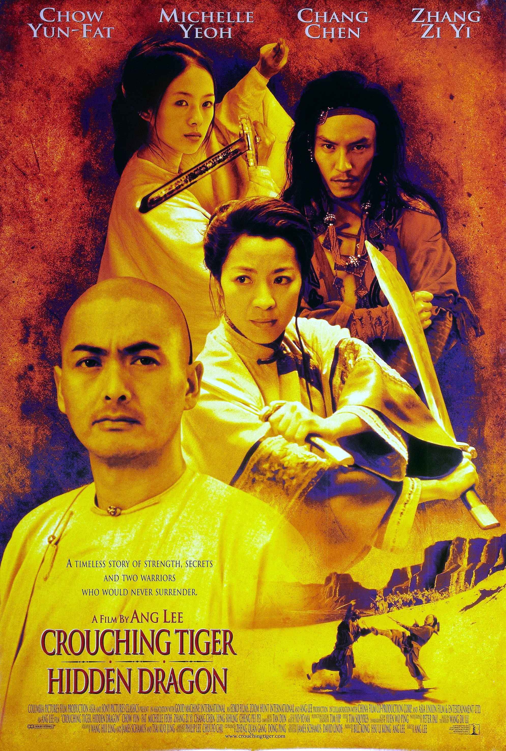 Crouching Tiger, Hidden Dragon (2000) BluRay 480p, 720p & 1080p