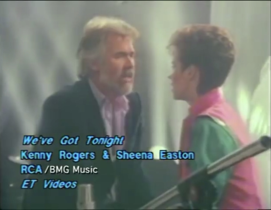 Kenny Rogers Sheena Easton We Got Tonight 1983