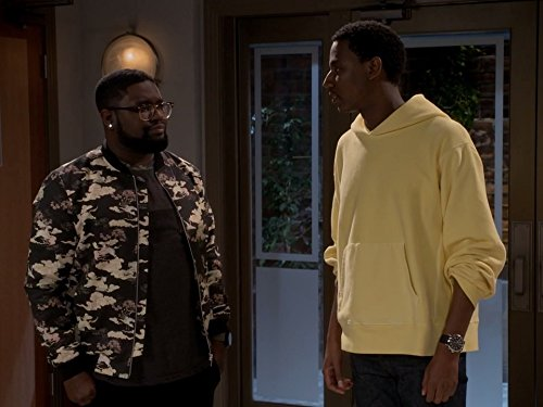 Lil Rel Howery and Jerrod Carmichael in The Carmichael Show (2015)