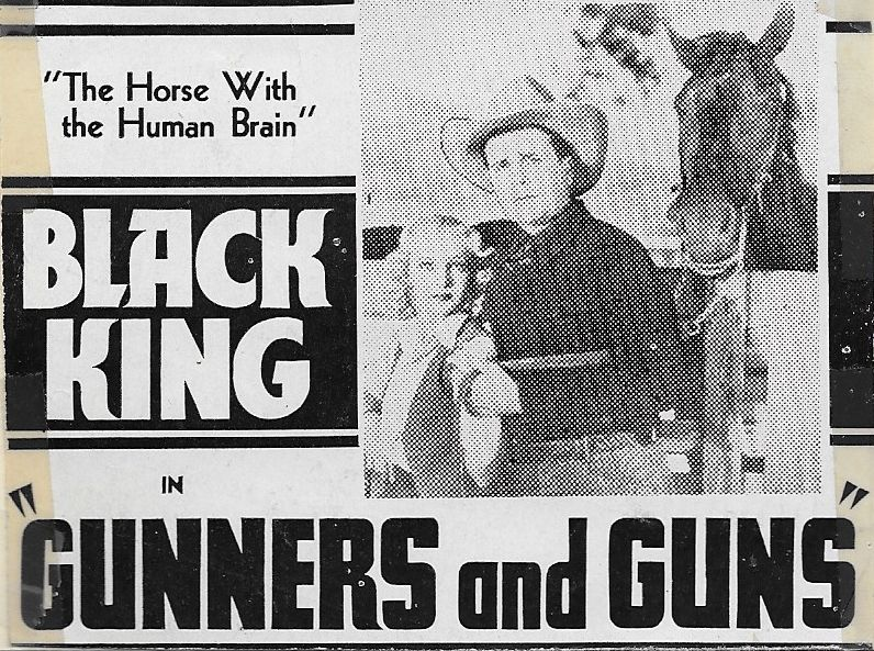 Edna Aslin, Edmund Cobb, and Black King in Racketeer Round-up (1934)