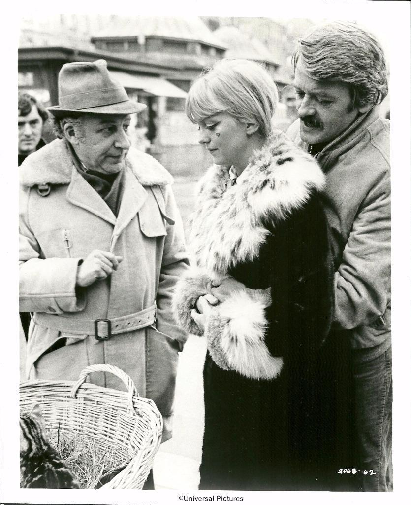 Goldie Hawn, Hal Holbrook, and Robert Ellis Miller in The Girl from Petrovka (1974)