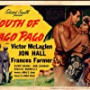 Frances Farmer, Jon Hall, and Victor McLaglen in South of Pago Pago (1940)