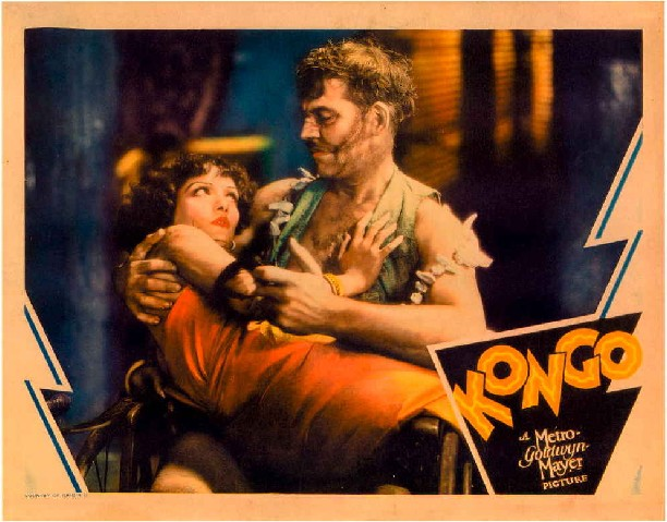 Walter Huston and Lupe Velez in Kongo (1932)