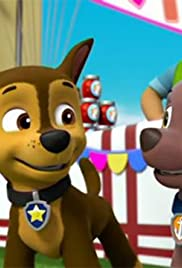 paw patrol pups in a jam pups save a windsurfing pig