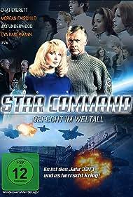 Morgan Fairchild, Nigel Bennett, Ivan Sergei, Kelly Hu, Jennifer Bransford, Chris Conrad, Chad Everett, Eva Habermann, and Tembi Locke in Star Command (1996)