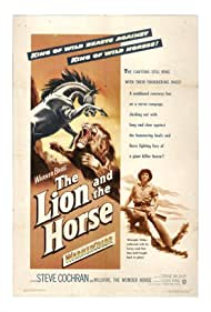 Steve Cochran and Wildfire the Horse in The Lion and the Horse (1952)