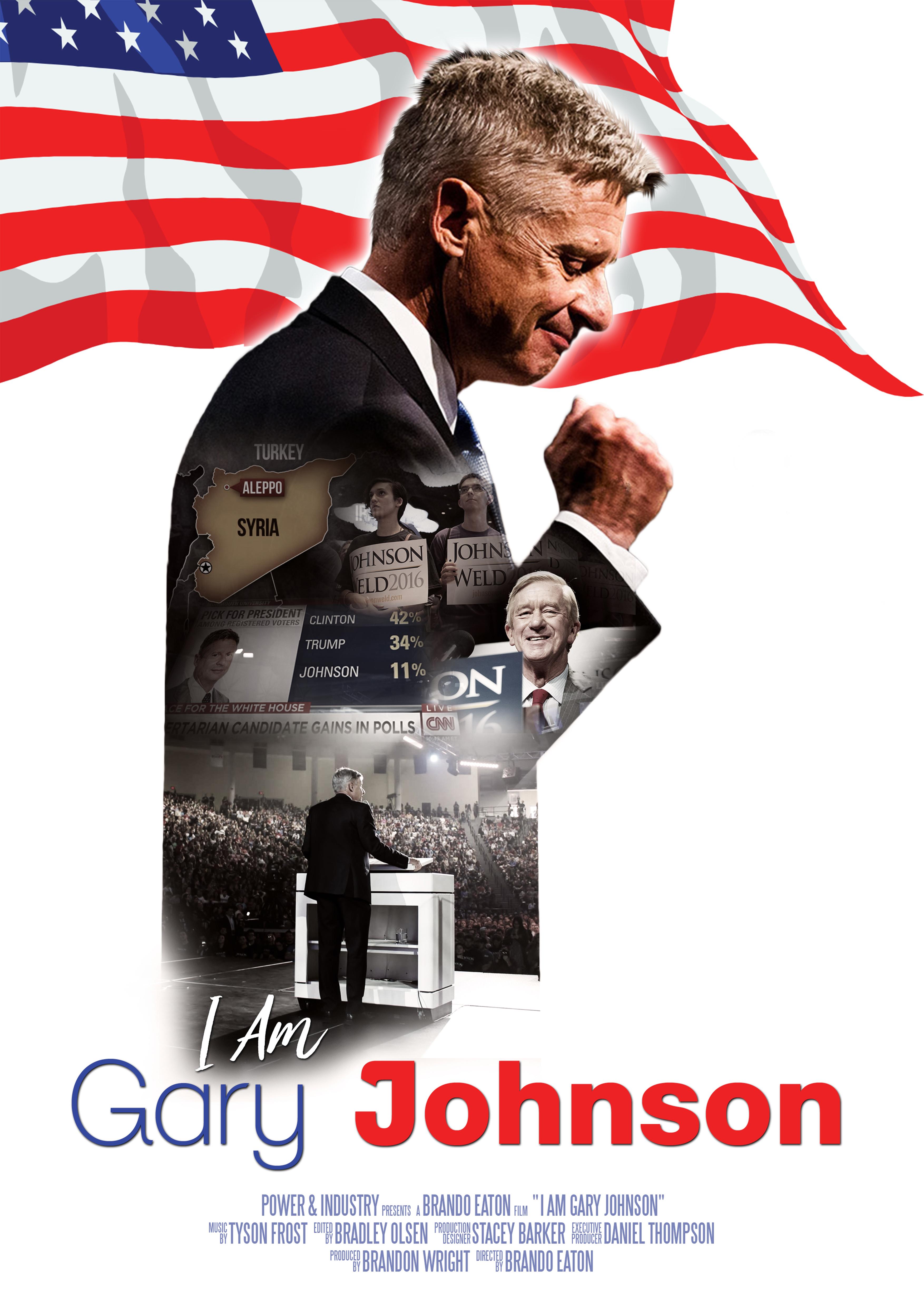 Gary Johnson Libertarian for President Campaign Flyer