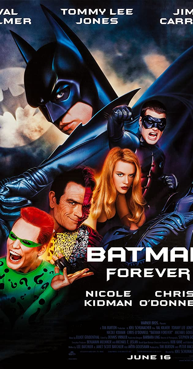 Subtitle of Batman Forever