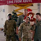 Kat Graham, Alexander Ludwig, Bethany Brown, Rohan Campbell, and Trezzo Mahoro in Operation Christmas Drop (2020)