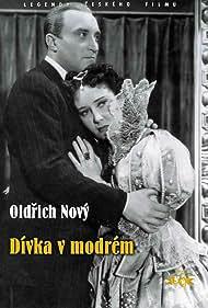 Lída Baarová and Oldrich Nový in Dívka v modrém (1940)