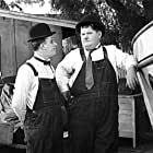 Oliver Hardy and Stan Laurel in Towed in a Hole (1932)
