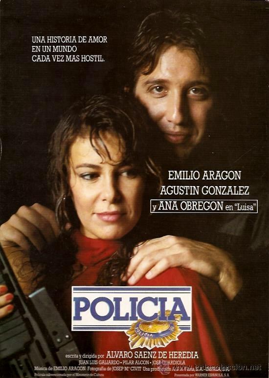 Emilio Aragón and Ana Obregón in Policía (1987)