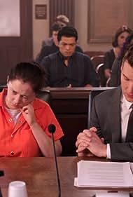 Scott Michael Foster, Rachel Bloom, Erick Lopez, Emma Willmann, Vincent Rodriguez III, Gabrielle Ruiz, and Vella Lovell in Crazy Ex-Girlfriend (2015)