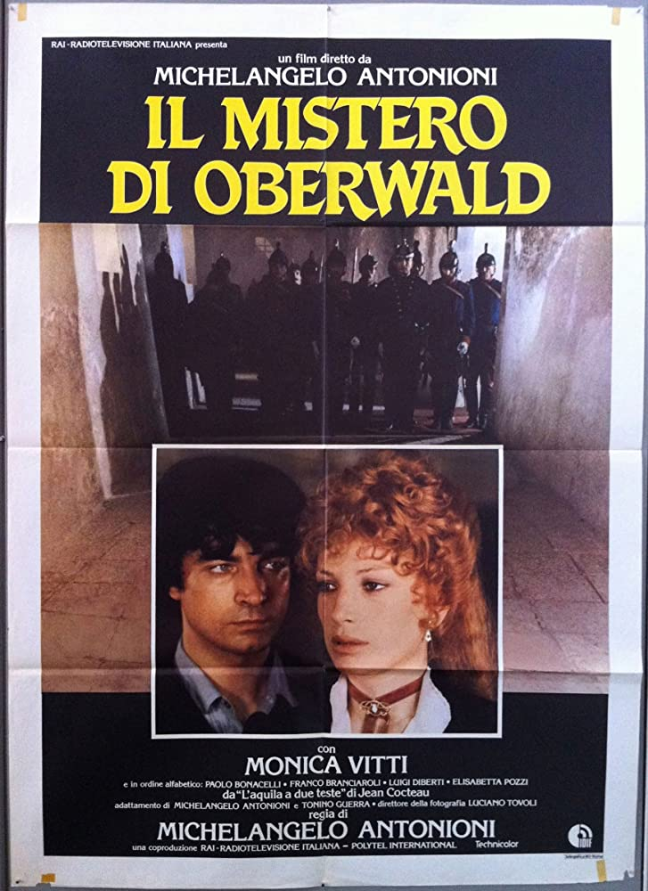 Franco Branciaroli and Monica Vitti in Il mistero di Oberwald (1980)