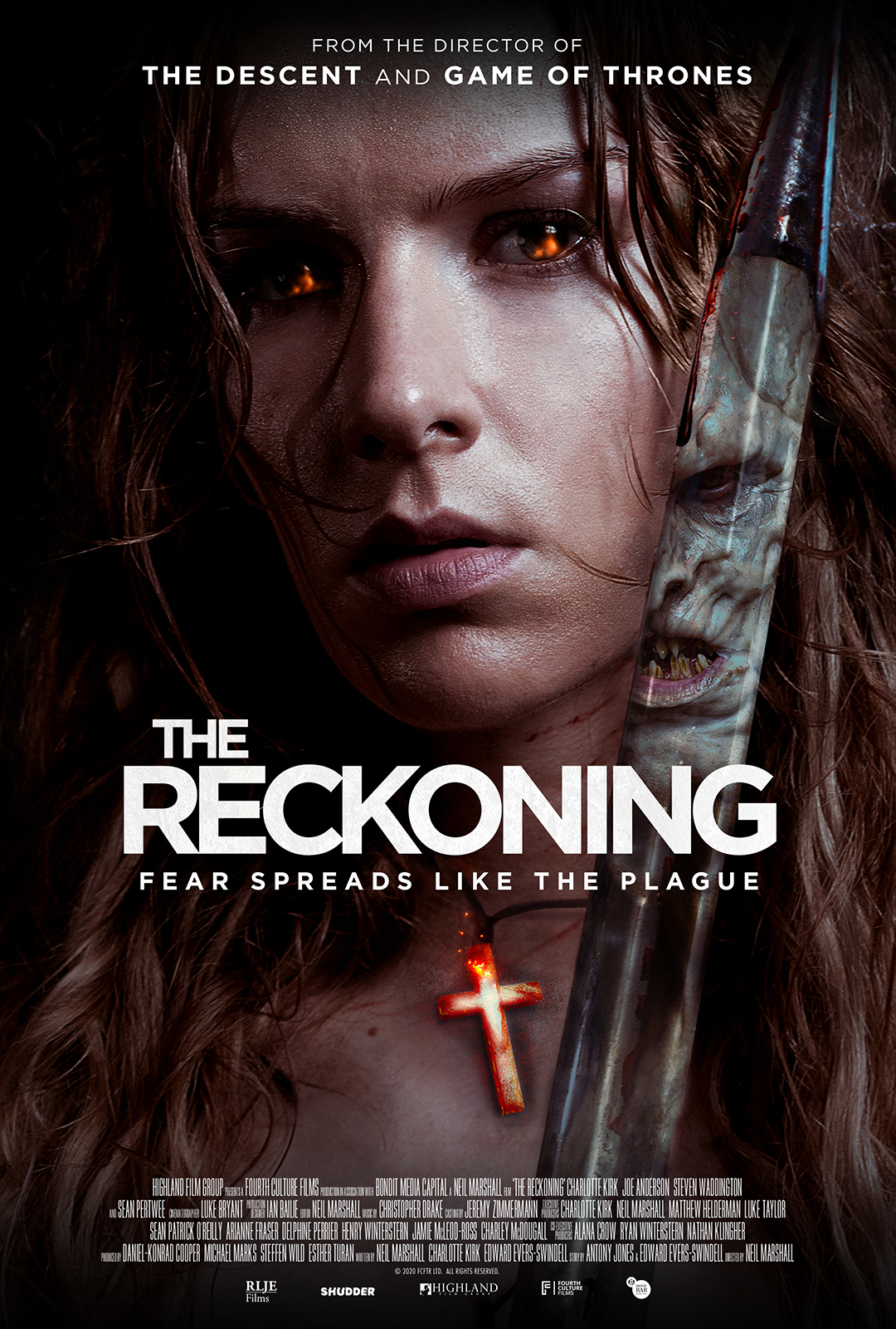 The Reckoning (2020) Bengali Dubbed (Voice Over) WEBRip 720p [Full Movie] 1XBET