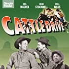 Dean Stockwell, Joel McCrea, and Chill Wills in Cattle Drive (1951)