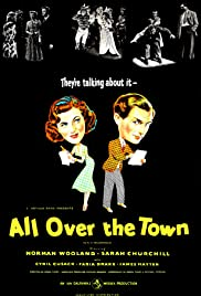 All Over the Town Poster