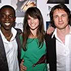 Jennifer Decker, Martin Henderson, and Abdul Salis at an event for Flyboys (2006)