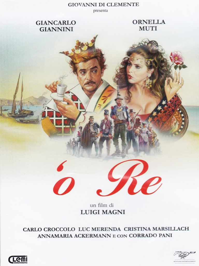 Ornella Muti and Giancarlo Giannini in 'O re (1989)