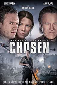 Harvey Keitel, Luke Mably, and Ana Ularu in Chosen (2016)