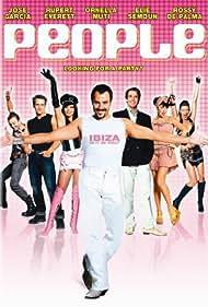 Rupert Everett, José Garcia, Rossy de Palma, and Patrice Cols in People (2004)