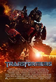 Peter Cullen, Shia LaBeouf, and Megan Fox in Transformers (2007)