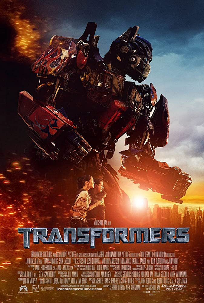 Transformers 2007 Hindi Dual Auaio ORG 500MB BluRay ESub Download