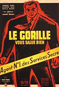 Le gorille vous salue bien (1958) Poster - Movie Forum, Cast, Reviews