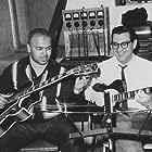Robert White and Joe Messina in Studio A at Hitsville USA.